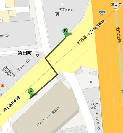 セブンイレブン大阪角田町)
